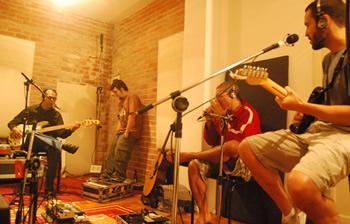 Estúdio de gravação no Rio de Janeiro